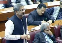 Economic crisis to further deepen if PTI govt completes tenure: Khaqan Abbasi