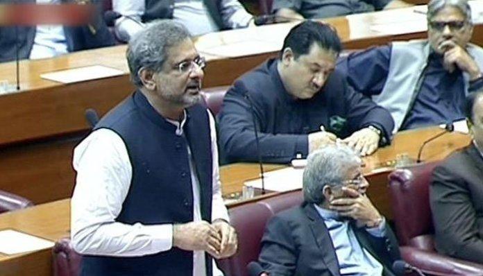 Economic crisis to further deepen if PTI govt completes tenure: Khaqan Abbasi
