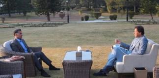 DG ISI calls on PM Imran, discusses national security