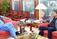 Farogh Naseem calls on PM Imran, discuss legal matters