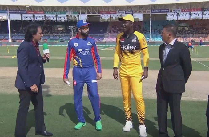 Peshawar Zalmi win toss, opt to field against Karachi Kings
