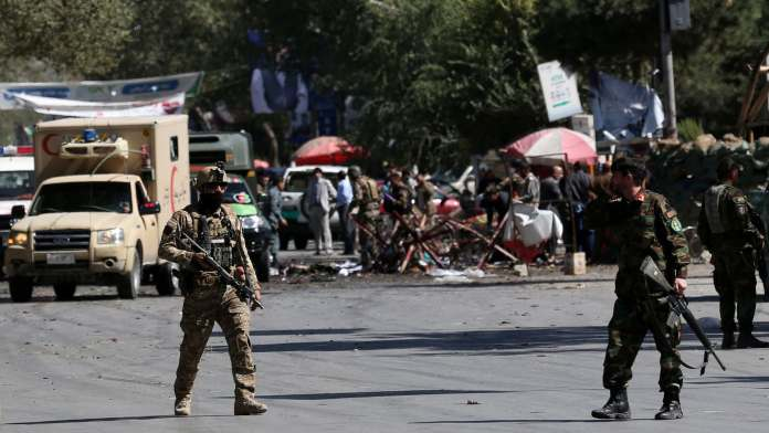 27 dead as Abdullah Abdullah's rally comes under attack in Kabul