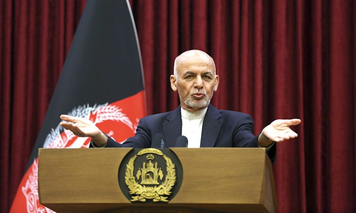 Ashraf Ghani rejects Taliban prisoner release clause in Afghan peace deal
