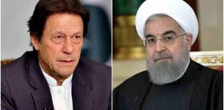 President Rouhani requests PM Imran to help lift US sanctions on Iran