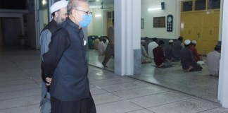 President directs mosques to follow precautionary measures to contain virus