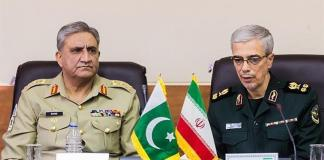Gen Bajwa, Iranian armed forces chief discuss border security on phone