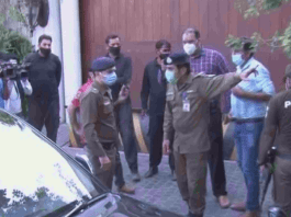 NAB team cordon off Shehbaz Sharif's Lahore residence to arrest him in assets case