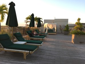UPaasha Bali Seminyak Pool deck
