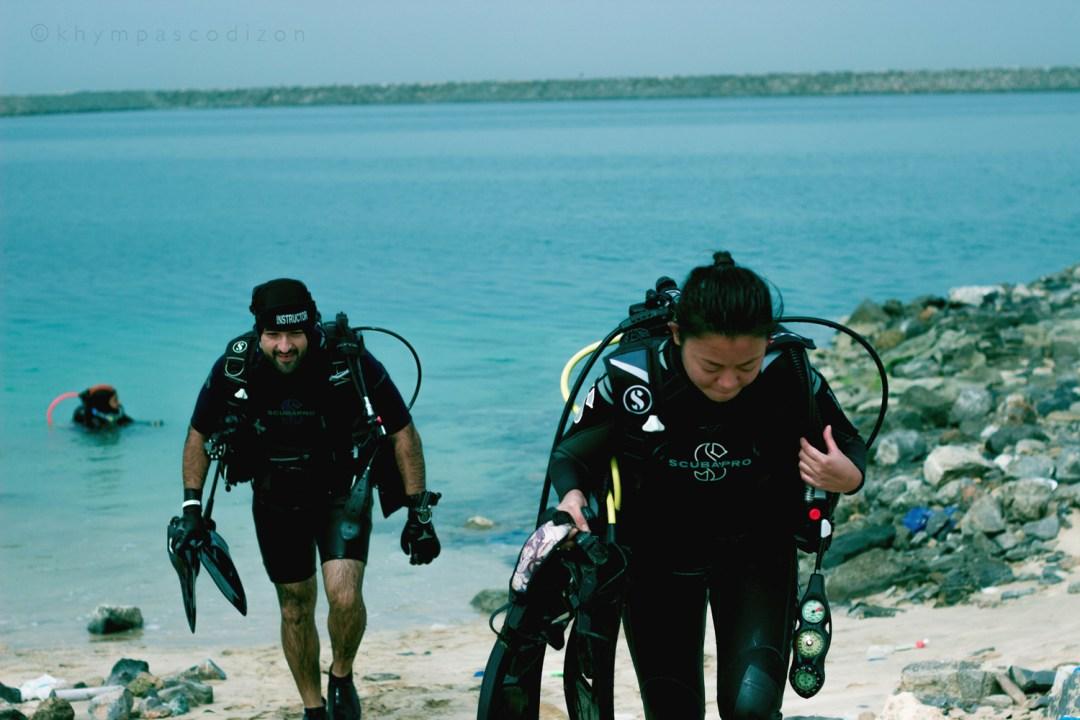 Scuba Diving In Ajman