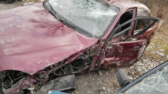 Авария в Броварах: маршрутка пролетела 15 метров, 14 ...