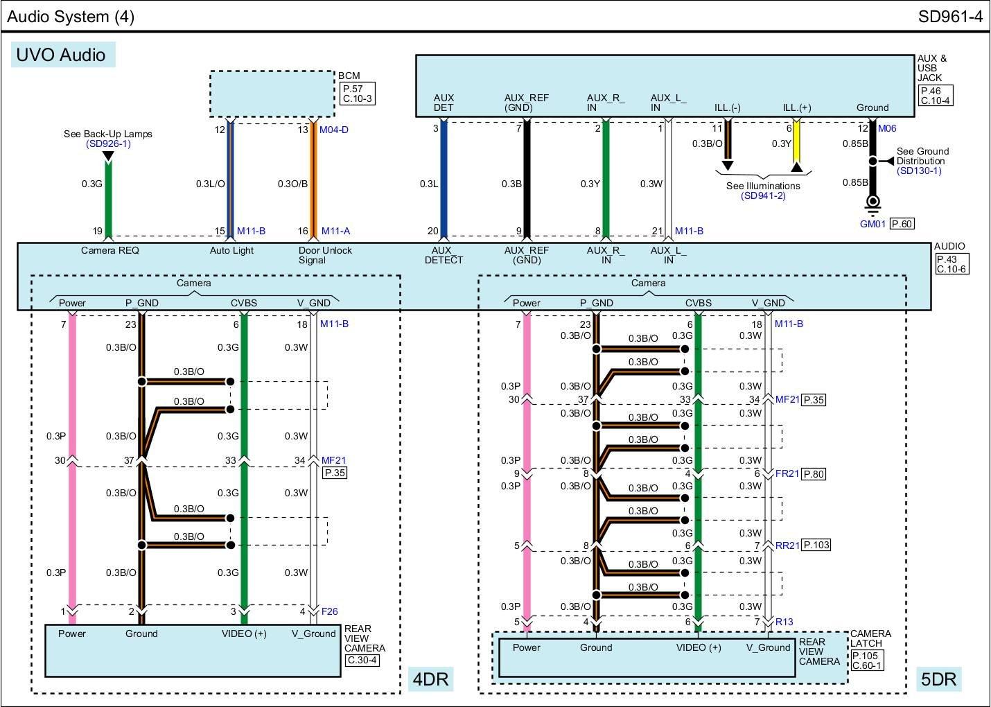 Wiring Diagram For 2013 Kia Rio SX With Navigation