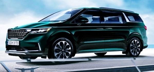 2021 KIA Sedona Minivan USA Release Date