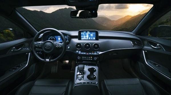 2021 KIA Stinger GT Interior