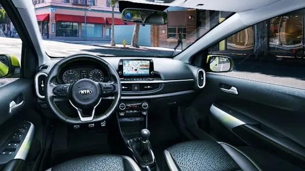 2022 KIA Picanto Facelift Interior