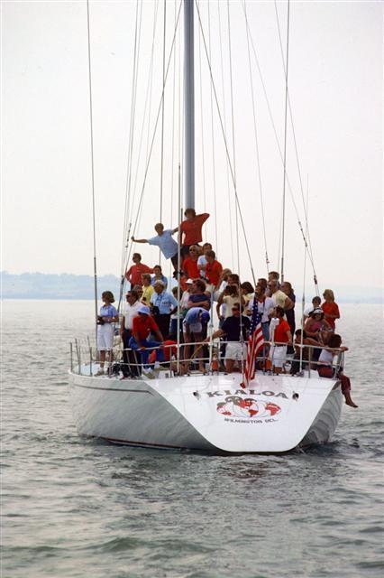 1980s, Kialoa 4 crew