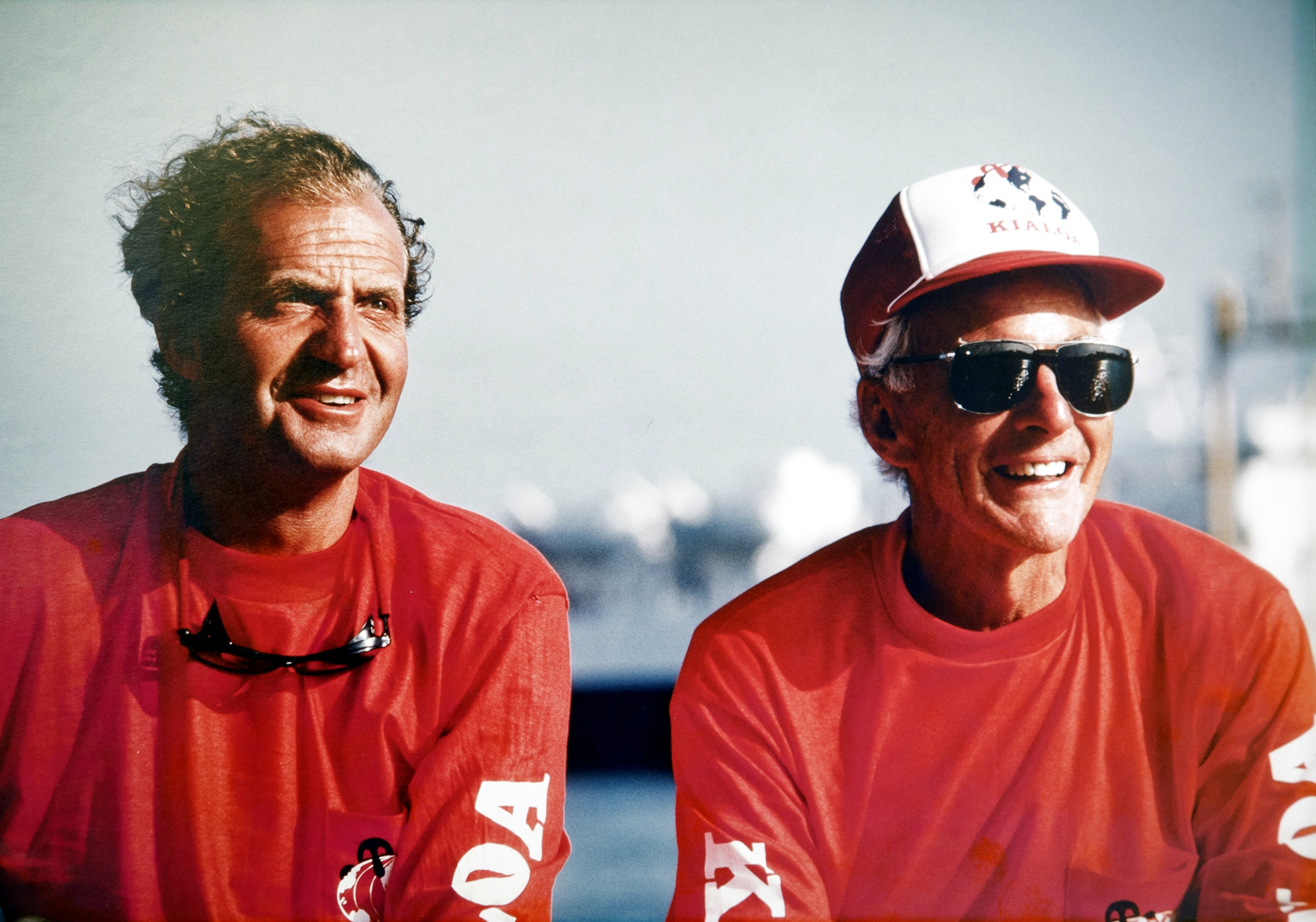 Juan Carlos, King of Spain, and Jim Kilroy in the 1980s