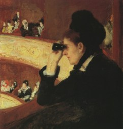 Mary Cassatt, In the Loge, 1879