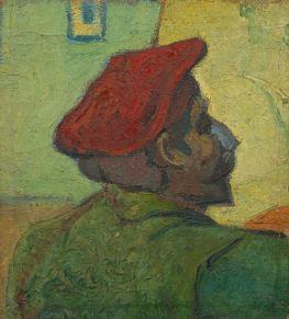 Vincent van Gogh, Portrait of Gauguin, 1888