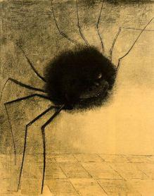 Odilon Redon, The Smiling Spider, 1881