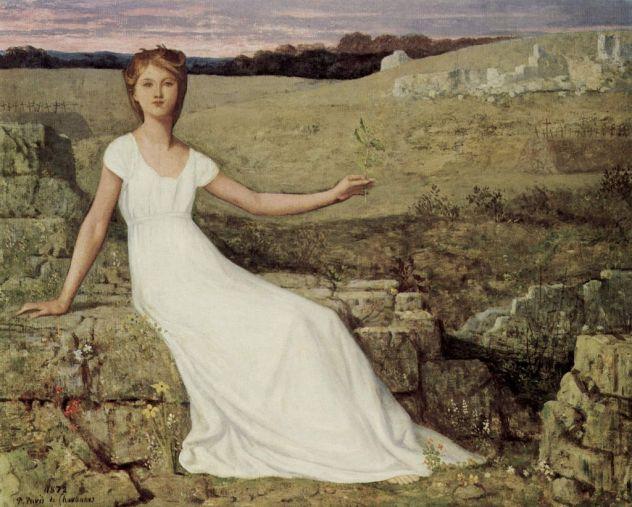 Pierre-Cécile Puvis de Chavannes, Hope, 1872