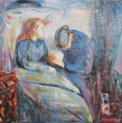 Edvard Munch, The Sick Child, 1925