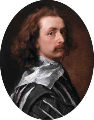 Anthony Van Dyck, Self Portrait, circa 1640