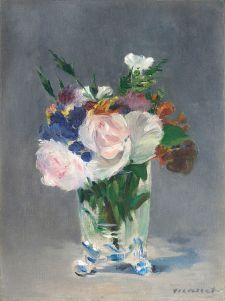 Edouard Manet, Flowers in a Crystal Vase, circa 1882