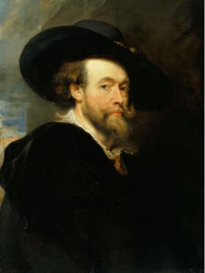 Peter Paul Rubens, Self Portrait, 1623