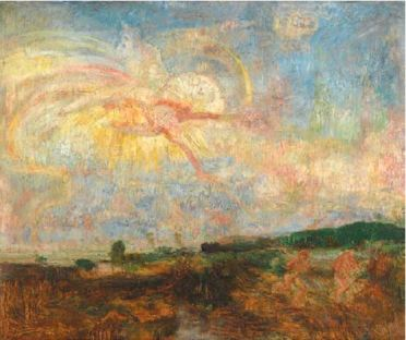 James Ensor, Adam and Eve expelled from Paradise, 1887