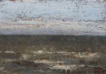 James Ensor, Seascape, 1880