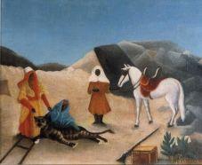 Henri Rousseau, Tiger Hunt, c1895