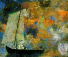 Odilon Redon, Flower Clouds, 1903