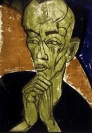 Erich Heckel, Portrait of a Man, 1919