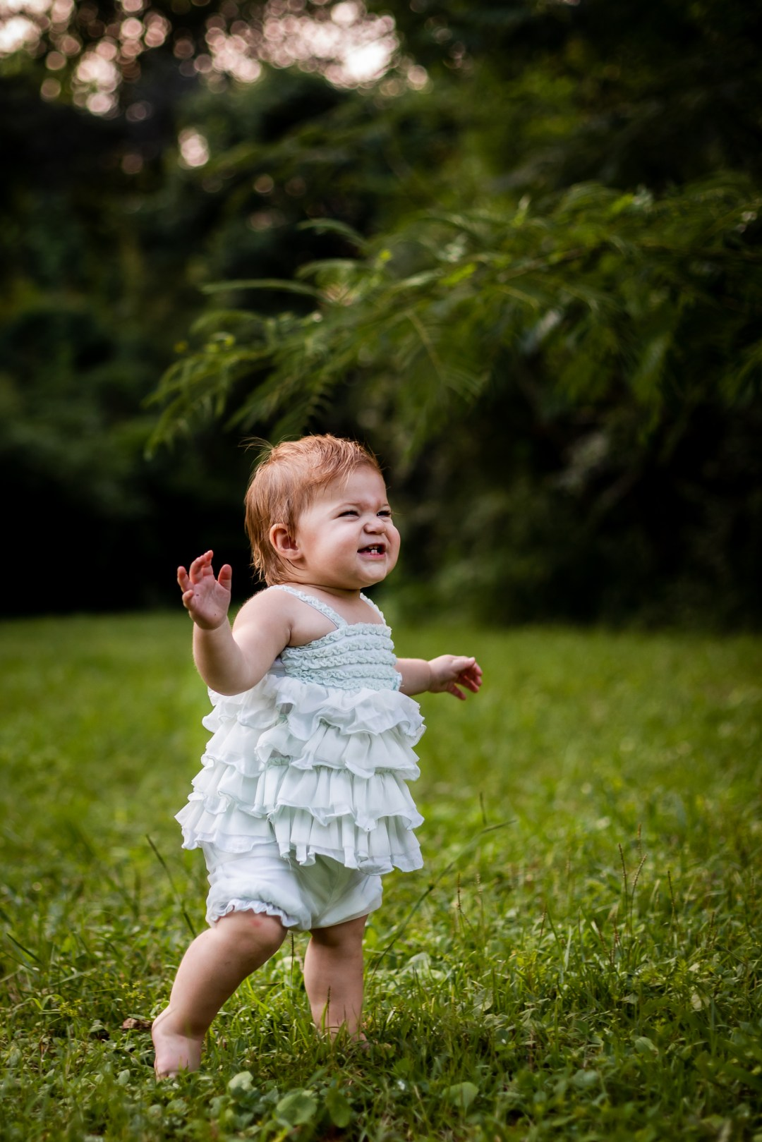Niceville photography session for first birthday