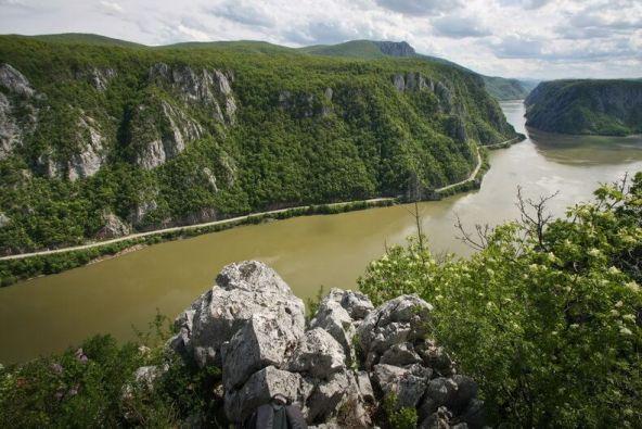 The Danube Gorge Romania