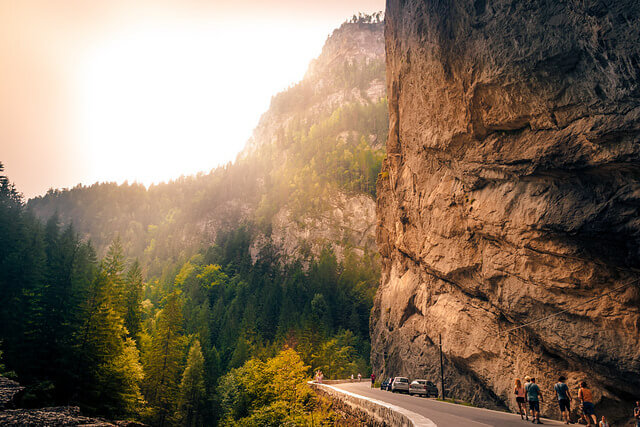 The Bicaz Canyon