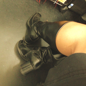 my black boots