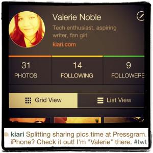 """""""Valerie"""" on Pressgram"""