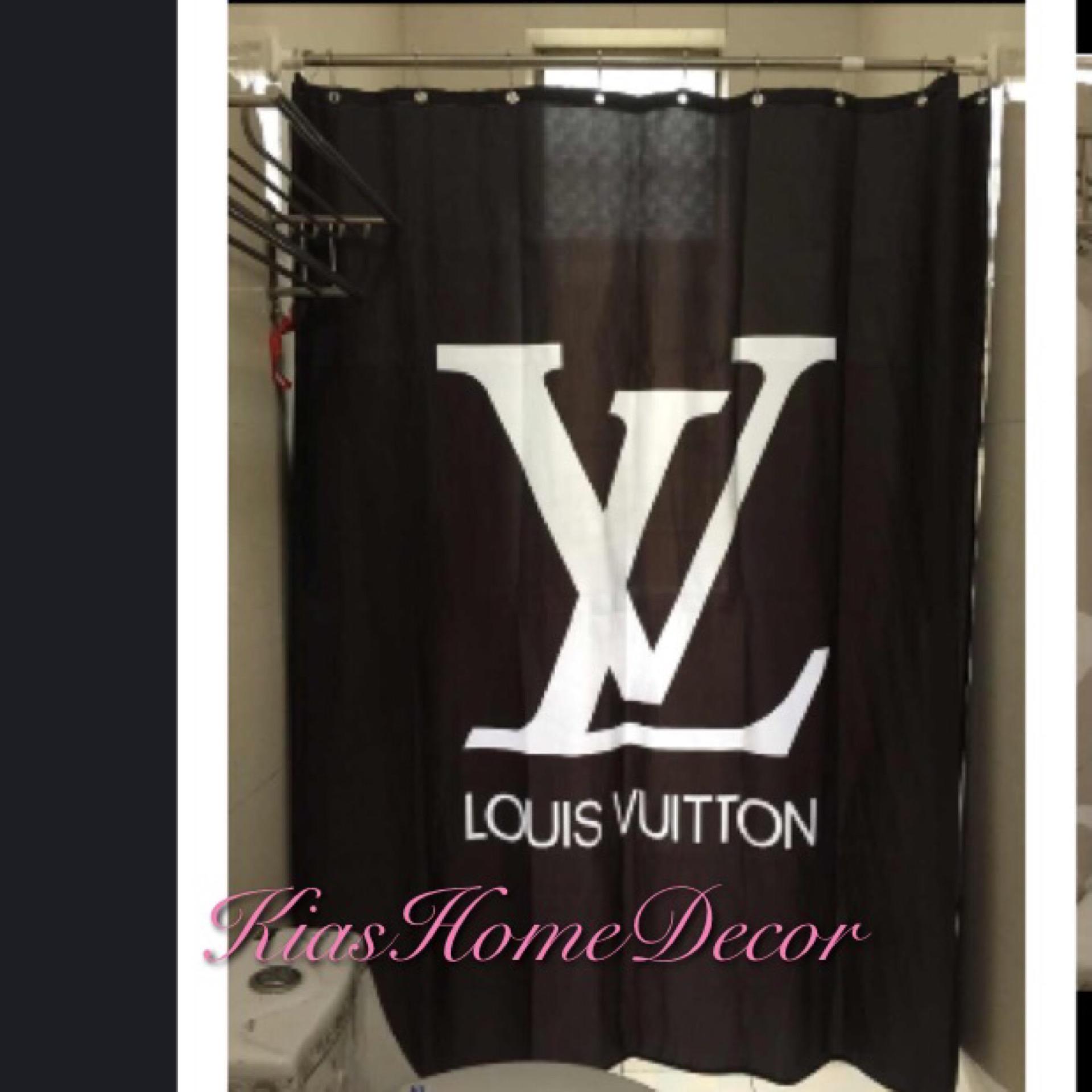 lv shower curtain
