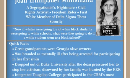 Women's History Month: Joan Trumpauer Mulholland