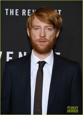 "NEW YORK, NY - JANUARY 06: Actor Domhnall Gleeson attends ""The Revenant"" New York special screening on January 6, 2016 in New York City. (Photo by Neilson Barnard/Getty Images)"