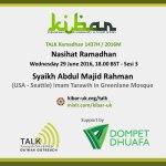 talk_nasihat ramadhan