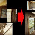 窓サッシのリフォーム