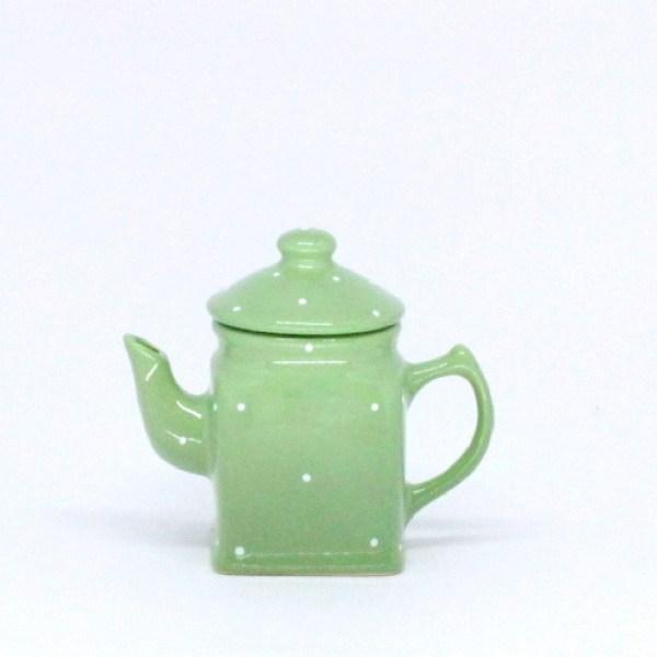 Bule Pequeno Quadrado (decorado) 250ml