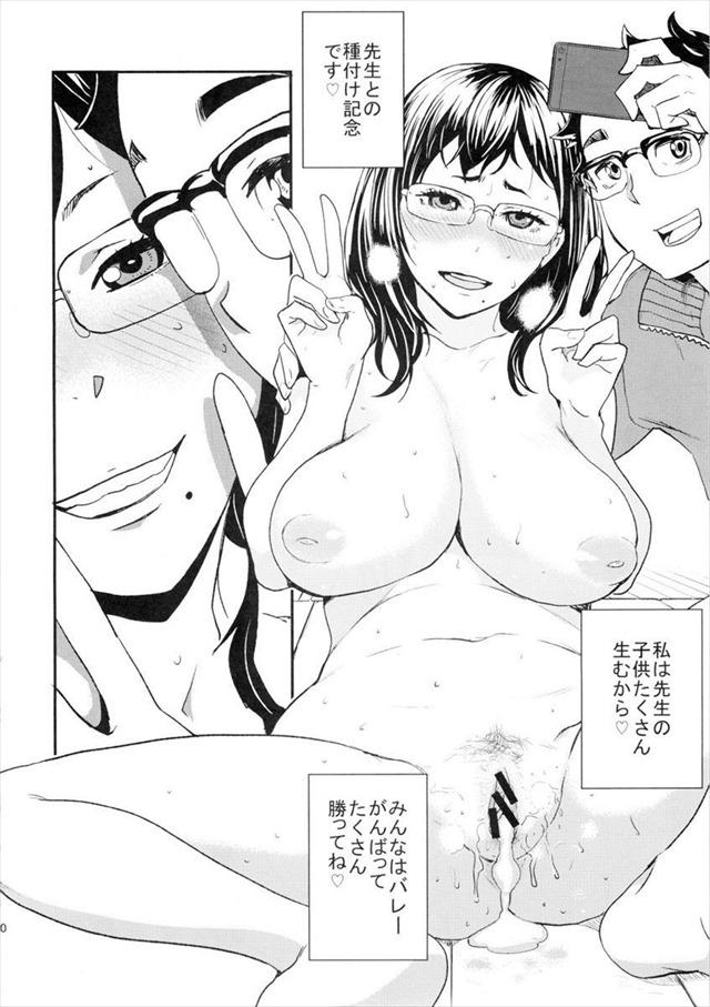 ハイキュー!! エロマンガ同人誌19