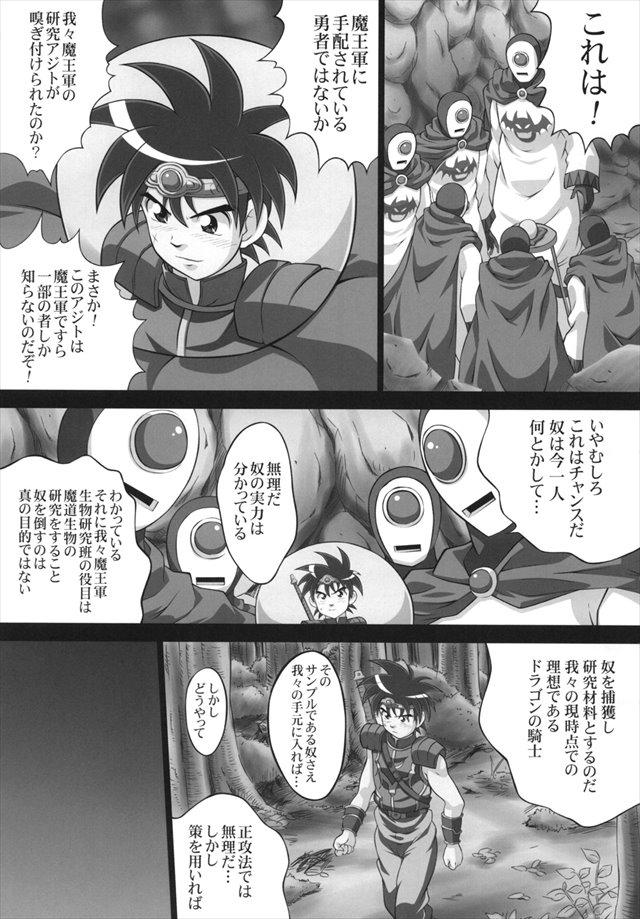 ダイの大冒険 エロマンガ同人誌2