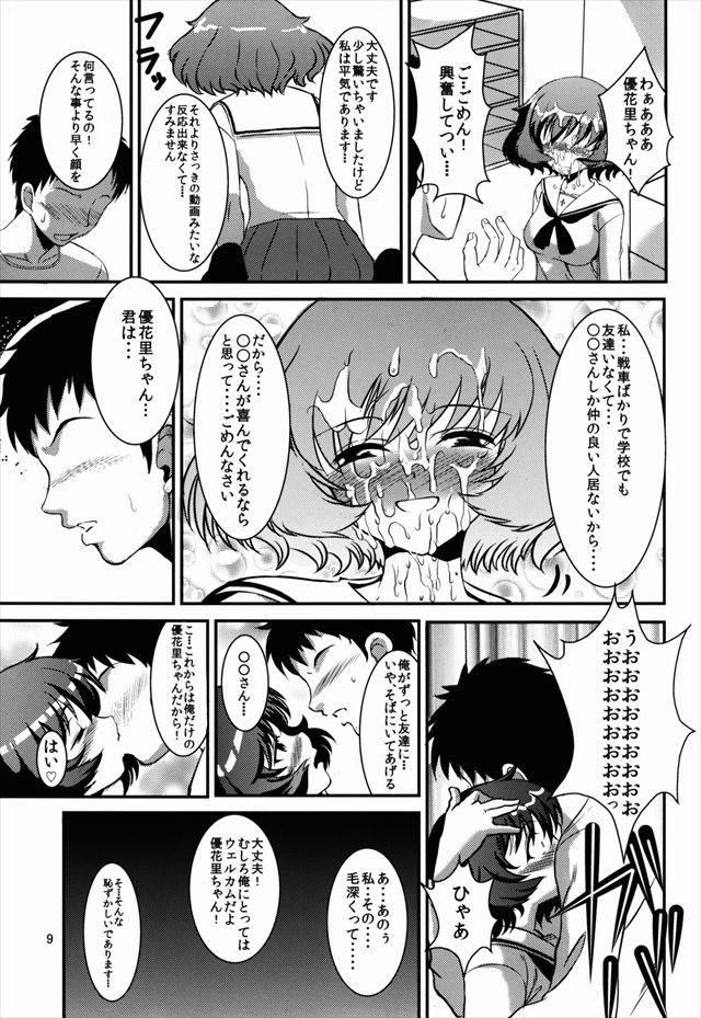 ガルパン エロマンガ・同人誌5008