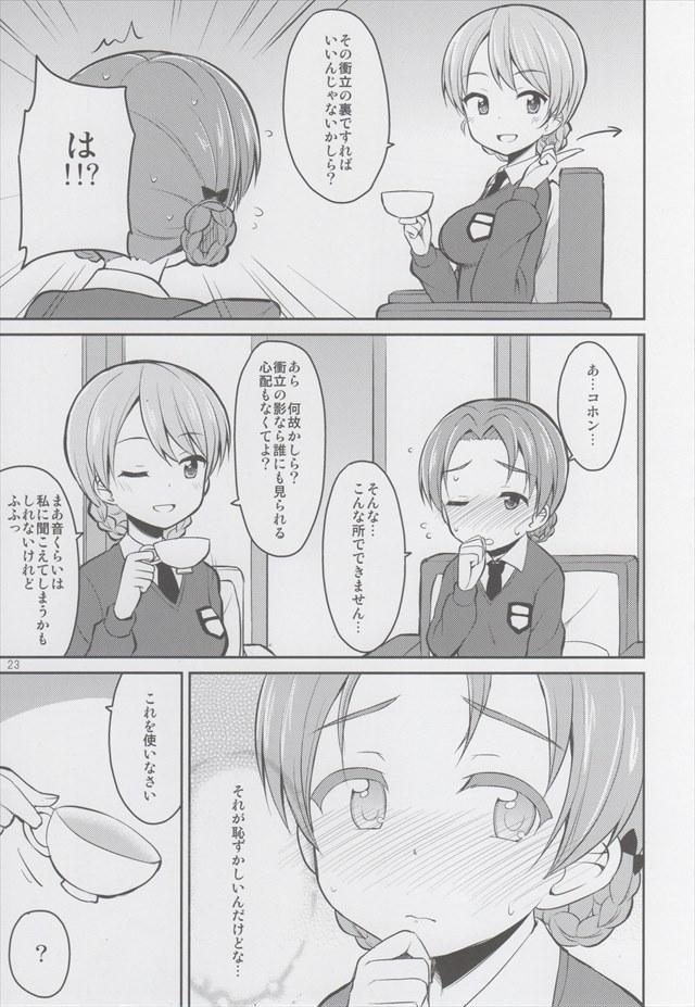 ガルパン エロマンガ・同人誌11022
