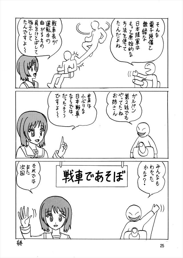 ガルパン エロマンガ・同人誌10025