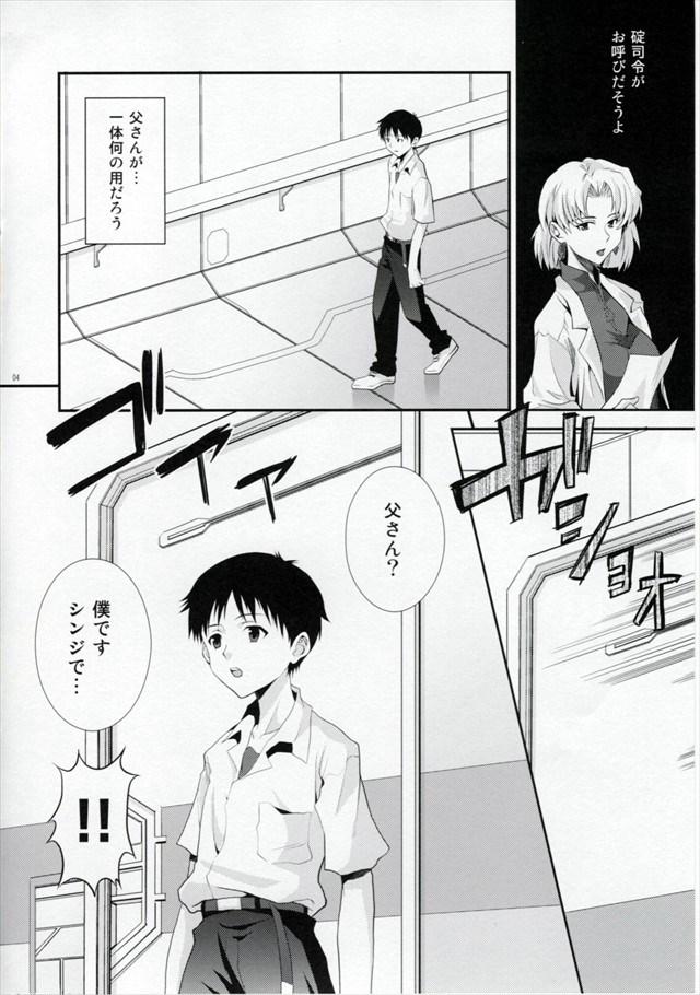 エヴァ エロマンガ・同人誌12003